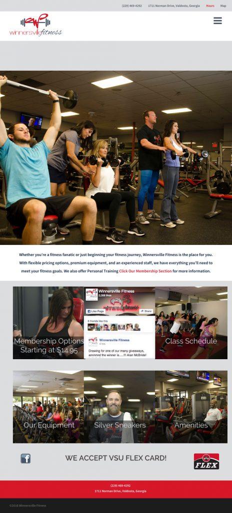 Winnersville Fitness Homepage