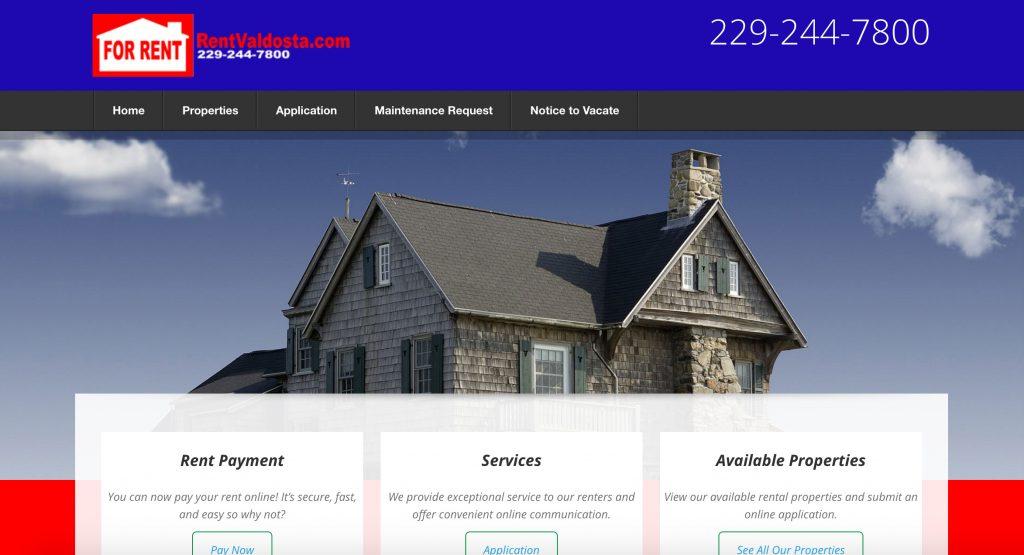New Web Property Launched for RentValdosta.com